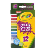Crayola Color Sticks Woodless Colored Pencils-12/Pkg, , hi-res