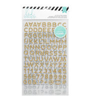 Heidi Swapp Hello Beautiful Alpha Glitter Stickers, , hi-res