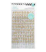 Heidi Swapp Hello Beautiful Alpha Glitter Stickers, , hi-res
