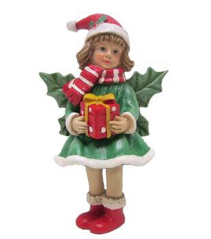 Maker's Holiday Christmas Littles Fairy-Green