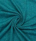 Sweater Knit Fabric 59\u0022-Tile Blue Heathered