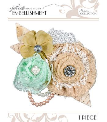 Jolee's Boutique Parisian Vintage Flowers Embellishment