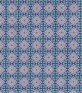 Premium Quilt Cotton Fabric 43\u0022-Majestic Peacock