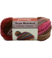 Premier Yarns Mega Brushed Chunky Yarn, , hi-res