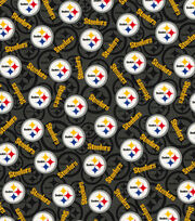 "Pittsburgh Steelers Cotton Fabric 58""-Toss, , hi-res"