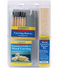 Midwest Wood Carver\u0027s Starter Kit