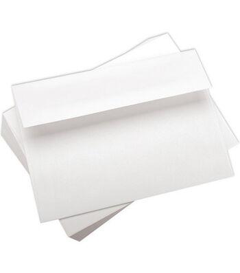 """Leader A7 Envelopes (5.25""""X7.25"""") 100/Pkg-White"""