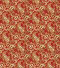 SMC Designs Upholstery Fabric 54\u0022-Dandy/ Vermillion