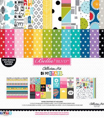 "Bella Blvd Collection Kit 12""X12""-Oh My Stars"