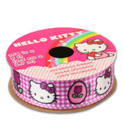 Hello Kitty® Easter Ribbon-Plaid W Tulip, , hi-res