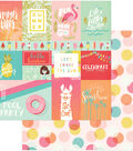 For The Love Of Summer Double-Sided Cardstock 12\u0022X12\u0022-Summer Vibes