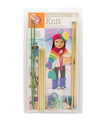 """I Taught Myself To Knit 18"""" Doll Clothes"""