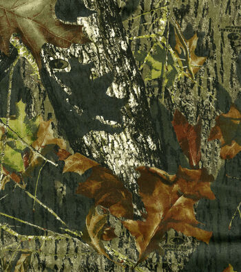 Mossy Oak Camouflage Twill Fabric 60''