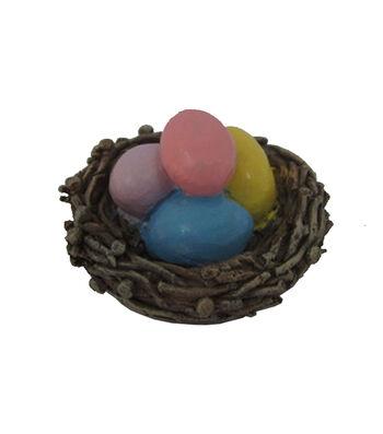 Easter Littles Resin Mini Easter Eggs in Nest