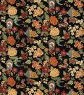 Eaton Square Print Fabric 54\u0022-Hannah/Onyx Garden