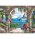Dimensions Floral Patio Paint By Number Kit