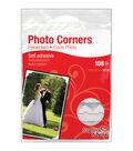 Scrapbook Adhesives 1/2\u0027\u0027 Classic Photo Corners-108PK