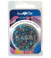 Brother ScanNCut 800pc 10SS Rhinestone Refill Pack 10SS-Turquoise, , hi-res