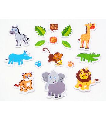 Foamies Printed Stickers Safari
