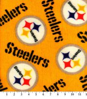 "Pittsburgh Steelers Fleece Fabric 58""-Yellow, , hi-res"