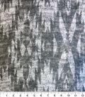 Southwest Knit Fabric 57\u0022-Charcoal Diamond