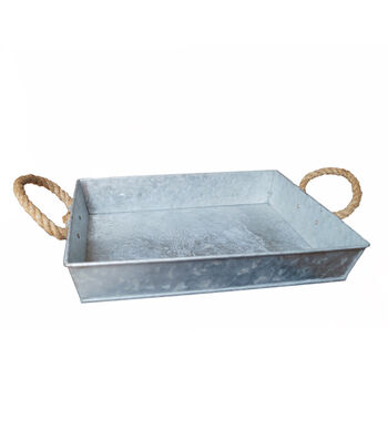 Fab Lab™ Galvanized Tray Small
