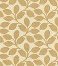 IMAN Home Multi-Purpose Decor Fabric 55\u0022-Foliage Filigree/Sepia