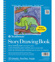 Strathmore Kids Drawing Story Book, , hi-res