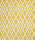 Home Decor 8\u0022x8\u0022 Fabric Swatch-Eaton Square Sherry   Gold Lattice