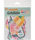 Carta Bella Ephemera Die-Cut Frames & Tags-Summer Dreams