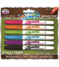 6pk Dry Erase Markers