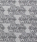 Star Wars™: The Force Awakens Flannel Fabric 42\u0022-White Logo