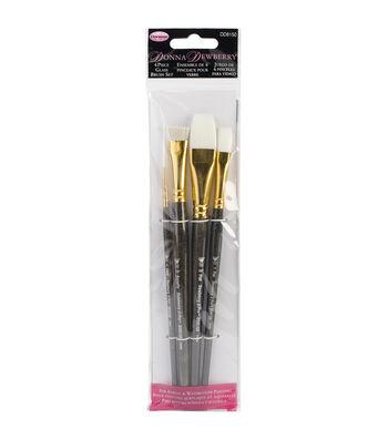 Donna Dewberry Glass Brush Set