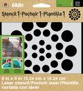 FolkArt® Stencil1™ Laser Stencils - Small - Asian Dots