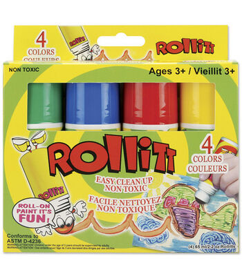 2.2 oz. Roll-It Paint-4PK/Primary