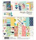 Simple Stories Double-Sided Paper Pad 6\u0022X8\u0022-Domestic Bliss