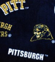"University of Pittsburgh Panthers Fleece Fabric 58""-Allover Blue, , hi-res"