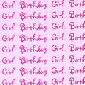 Sew Sweet Collection- Birthday Girl Organza Pink