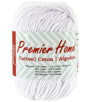 Premier Yarns Solid Home Cotton Yarn 140 yds, , hi-res