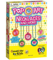 Creativity For Kids Pop Art Necklaces and More Kit, , hi-res