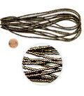 Blue Moon Beads Seed Bead Hank, Metallic Dark Brown, size 6/0