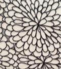 Anti-Pill Fleece Fabric 57\u0022-Floral Burst