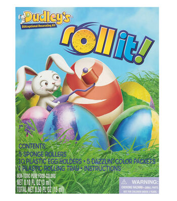 Dudley's Roll It! Egg Decorating Kit