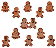 Dress It Up Holiday Embellishments-Gingerbread People, , hi-res