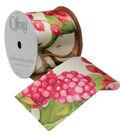 Offray 2.25\u0022 Ribbon-Fruit Punch Floral