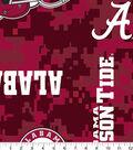 University of Alabama Crimson Tide Fleece Fabric 60\u0022-Digital