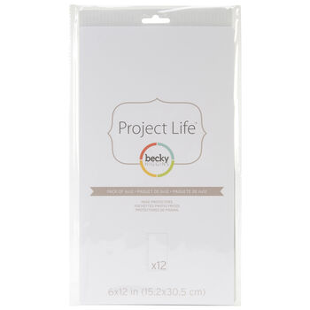 American Crafts Project Life Page Protectors
