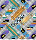 Anti-Pill Fleece Fabric 61\u0022-Skate Decks