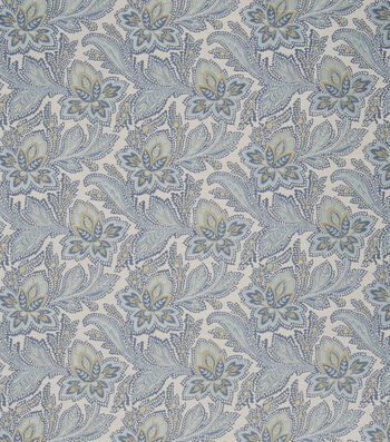 "French General Upholstery Fabric 54""-General/Bleu"