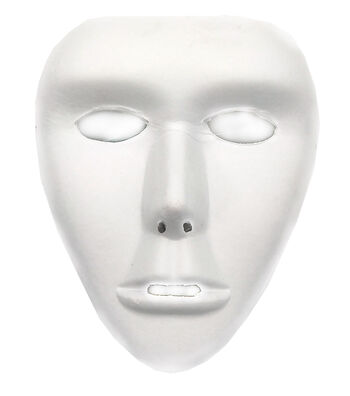 "Paper Full Mask Form 7.5""X8.25""-White"